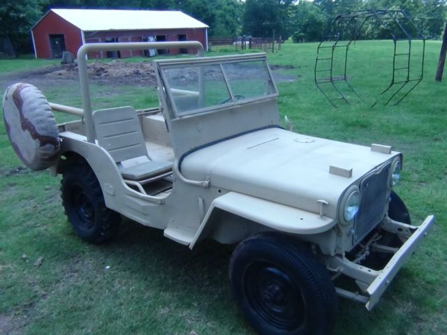 1950 Willys CJ2A/M38