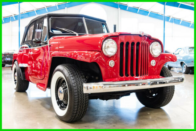 1950 Willys 1950 Willys Jeepster 350ci V8 Automatic