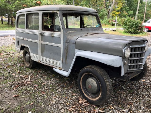 1950 Willys Station Wagon SURVIVOR RARE PROJECT