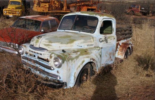 1950 Dodge Pickup 50 Ratrod Project Truck Original For Sale Photos