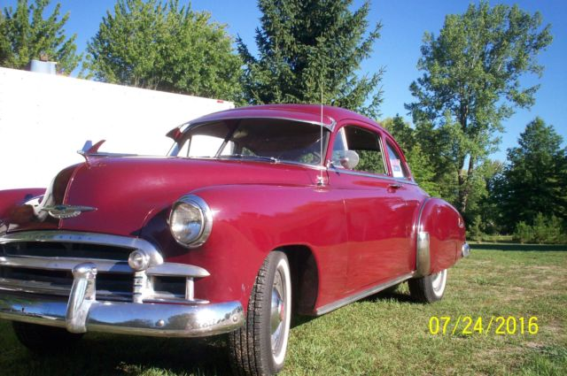 1950 Chevrolet Sport Coupe  6pass