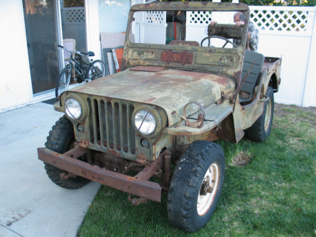 1951 51 Willys Jeep M38 Military Korean War Army Jeep for sale: photos, technical specifications ...