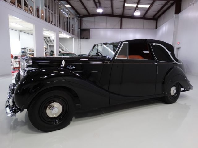 1951 Bentley Mark VI James Young Drophead Coupe, Rare!
