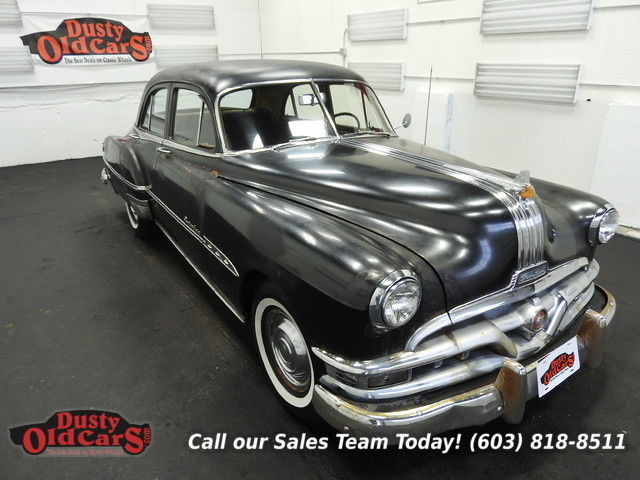 1951 Pontiac Chieftan Runs Drives Body Inter VGood 268 S8 4 spd auto
