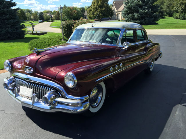 Buick Super Eight Riviera Sedan Original Survivor For Sale