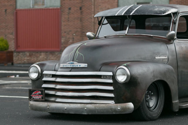 1951 chevrolet 3100 5 window rat rod pickup 350 v8 350 for 1951 chevy 5 window pickup for sale