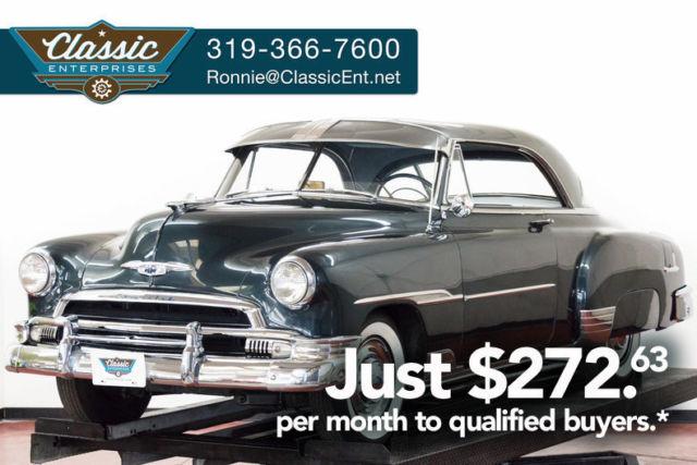 1951 Chevrolet Bel Air 2 Door Hardtop Wide White Wall Tires Power