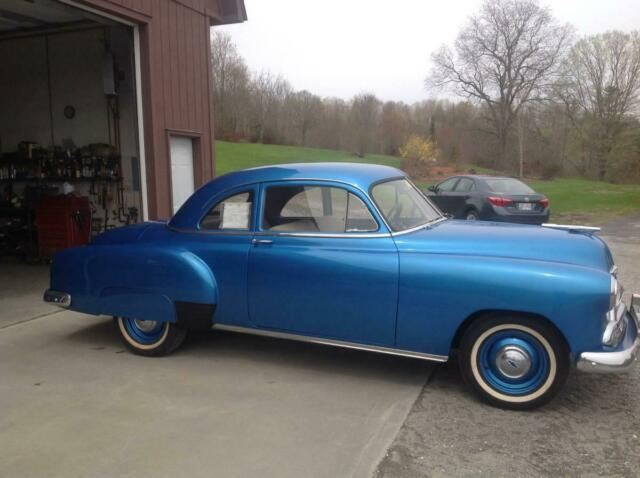 1951 Blue Chevrolet Other 2Dr 2 Door Dr Only 42k Original Miles Coupe with Tan interior
