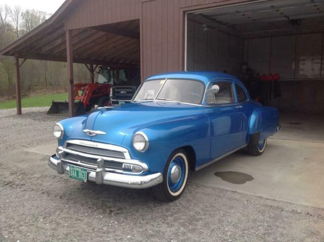 1951 Chevrolet Coupe 2Dr 2 Door Dr Only 42k Original Miles