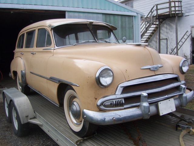 47f15f97c 1951 chevrolet deluxe station wagon,tin woody,original,solid,straight,SWEET!