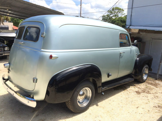1951 chevrolet panel truck 3100 v8 chevy 350 for sale photos technical specifications description. Black Bedroom Furniture Sets. Home Design Ideas