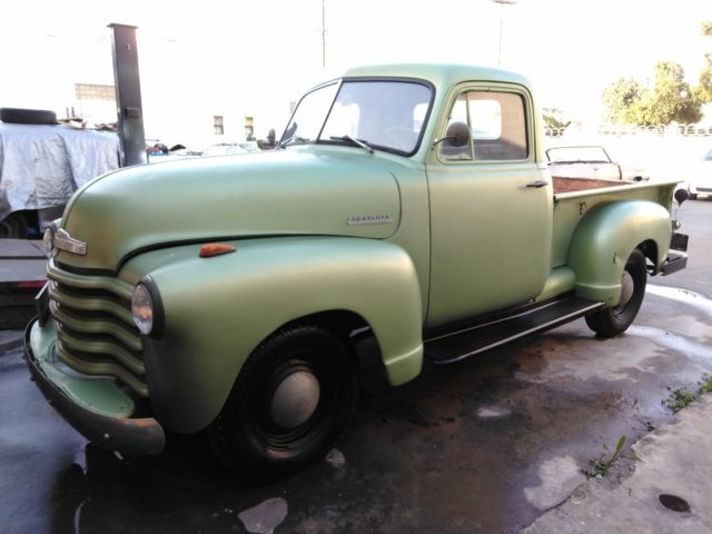 1951 Chevrolet Other Pickups chevy
