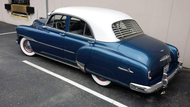 1951 chevrolet styleline deluxe 4 door sedan for sale for 1952 chevy 4 door