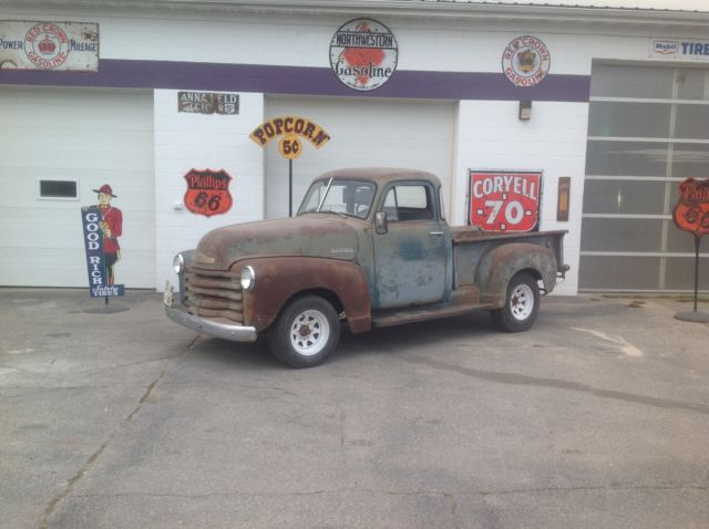 1951 Chevrolet Other Pickups 1/2ton 5 WIN