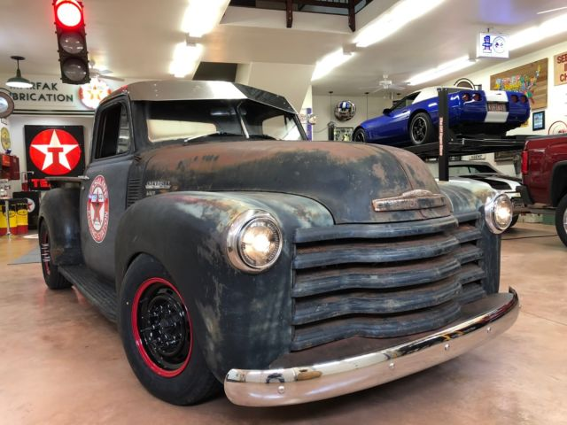 1951 Chevrolet Other Pickups 3 Window Short Bed Ratrod Patina Shop Truck