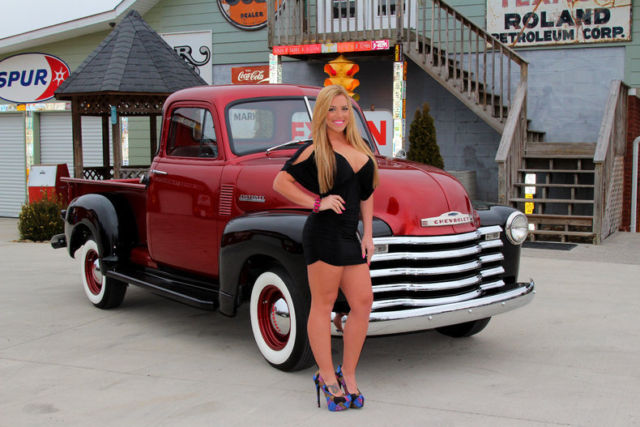 1951 Chevy 3100 FREE SHIPPING Frame Off Resto 255 I6 3 ...