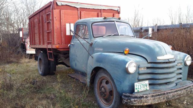 Edmonton Area Chevrolet Pickup Trucks For Sale Buy Used: 1951 Chevy Chevrolet 1 1/2 Ton Truck Vintage 51 For Sale