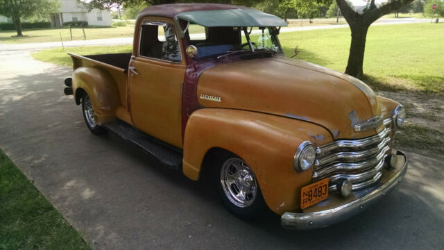 1951 Chevy Truck 3100 Short Bed Patina Shop Truck Rat Rod