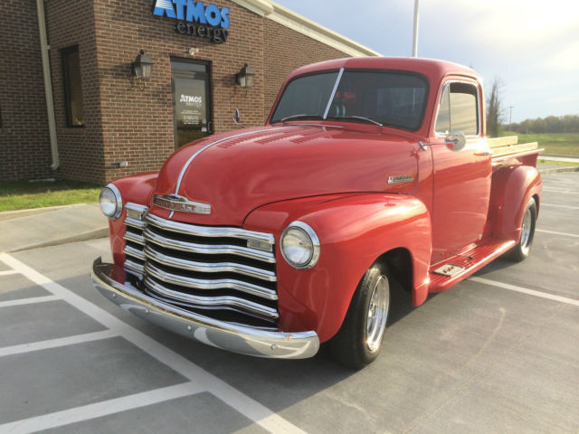 1951 chevy truck street rod for sale photos technical specifications description. Black Bedroom Furniture Sets. Home Design Ideas