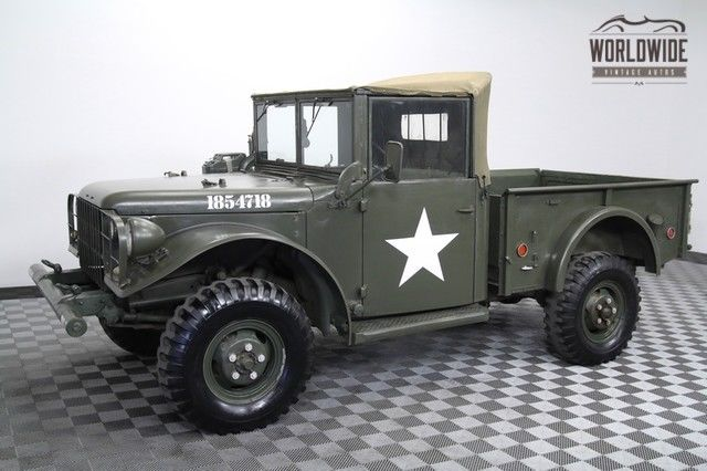 1951 Dodge M37 Army Truck Restored. Rust-free. Rare