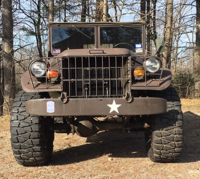1951 Dodge M37 Diesel for sale: photos, technical specifications