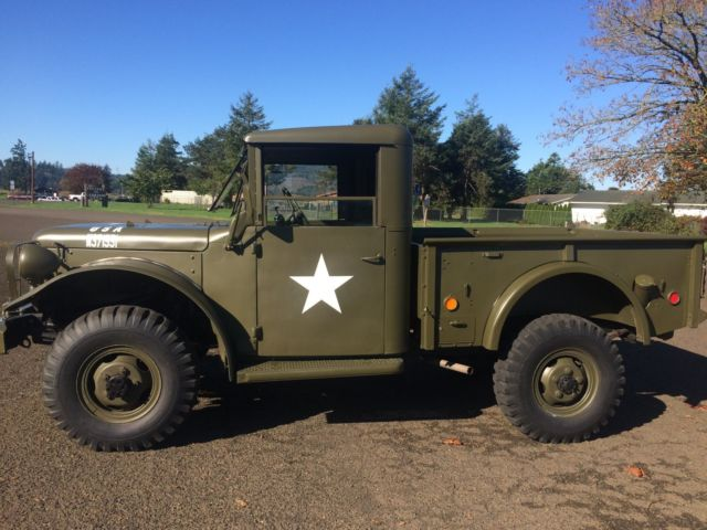 1951 Dodge Other Pickups military