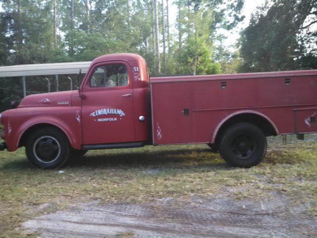 1951 Dodge Other Pickups red