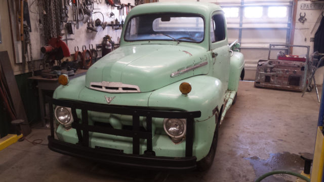 1951 Ford F-100 2 Dr Base