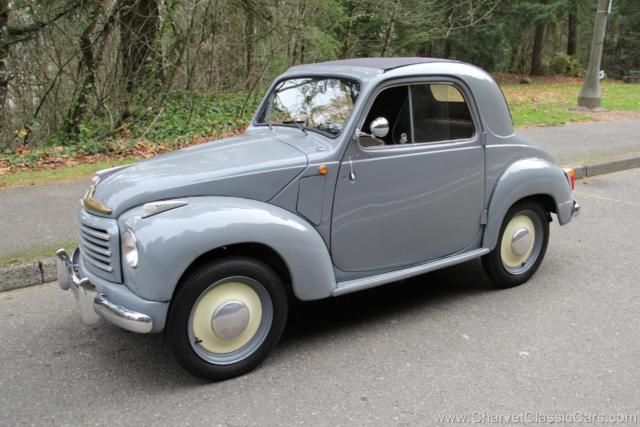 1951 Fiat 500 Topolino Convertible Saloon - Excellent! See VIDEO