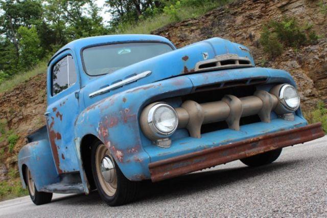 1951 ford f 1 rat rod pickup restomod 350ci auto pdb ps patina nice 1950 Ford F4 Rat Rod 1951 ford f 1 rat rod pickup restomod 350ci auto pdb ps patina nice f100 f1