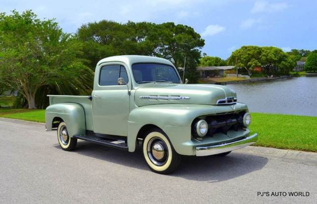 1951 Ford F-100 F-1 PICK UP 239 V8 3-SPEED UPGRADED 12 V