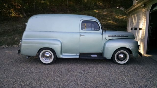 33574af1f8 1951 ford f1 panel truck. for sale  photos