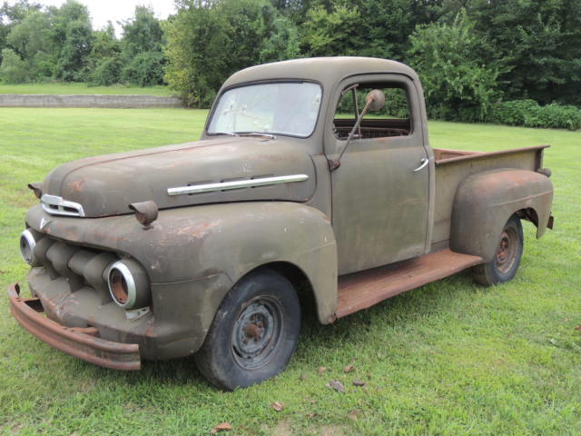 1951 Ford Other Pickups F1 half ton pickup truck