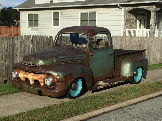 1951 Ford F100 Rat Rod Pickup For Sale Photos Technical