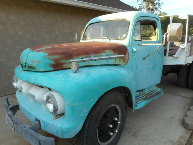 1951 ford f5 dump bed truck for sale photos technical for Cottonwood motors auto transport