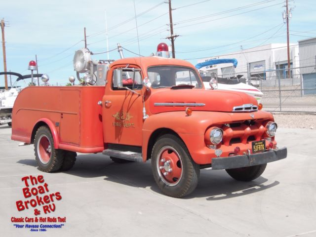 1951 Ford Fire Truck