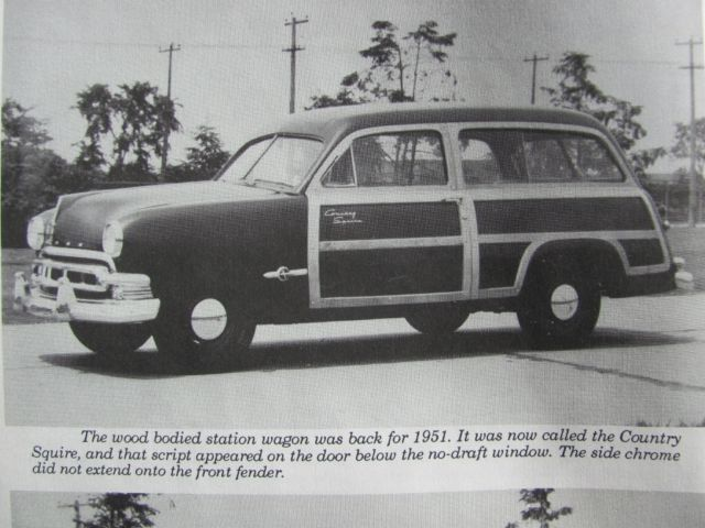 1951 Ford Meteor Country Squire Custom Deluxe  2-door Woodie Station Wagon