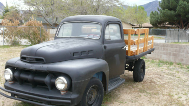 1951 Ford Other Pickups F-3 FLATBED