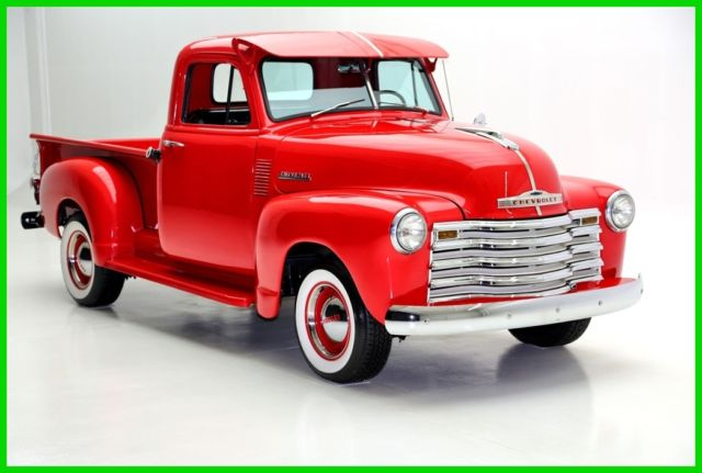 1951 Chevrolet 3100 Frame Off Restoration, PB, Wide Whites