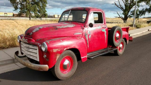 1951 GMC 1/2 Ton Short Bed Pickup, Chevy