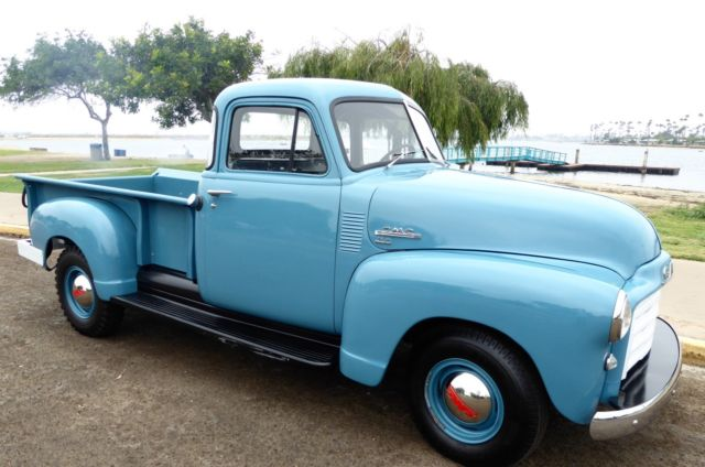 1951 gmc 3 4 ton pickup truck 5 window immaculate frame off restoration for sale photos. Black Bedroom Furniture Sets. Home Design Ideas