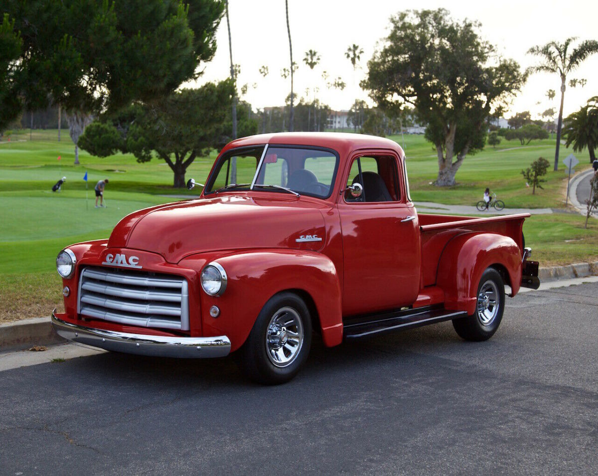 1951 Gmc 5 Window Pickup Truck Restomod Frame Off Restoration Modern 350 Ps Pb For Sale Photos Technical Specifications Description