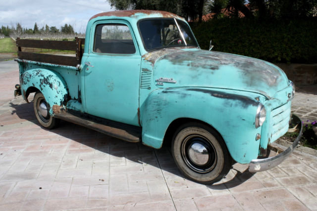 1951 Chevrolet Other Pickups 150,Half Ton,Short Bed, California Truck
