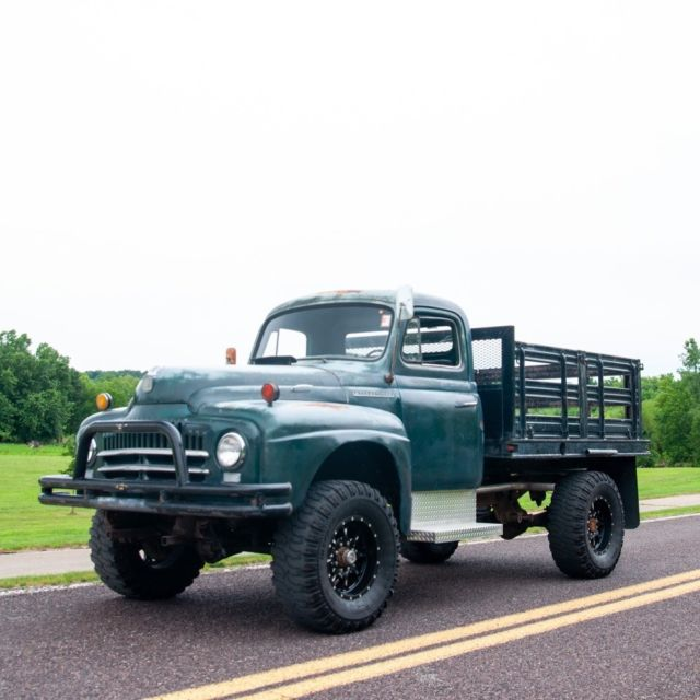 1951 International Harvester L 162 L-162 4x4 Stake Bed Truck