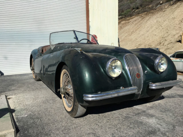 1951 Jaguar XK Base