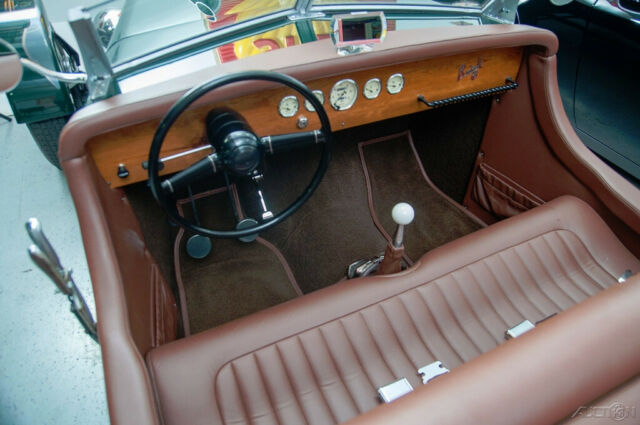1951 Green Other Makes McPherson Buick McPherson Special Flying Z Convertible with Brown interior