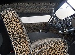 1951 Black Mercury Other Removable Carson with Leopard interior