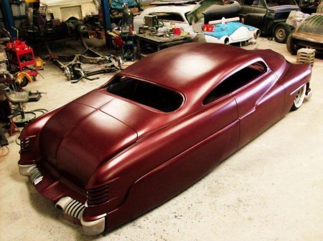 1951 mercury old school custom 2 door coupe hot rod low. Black Bedroom Furniture Sets. Home Design Ideas