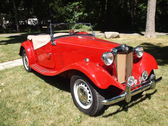 Mg Td Classic British Sports Car on 1951 mg td for sale