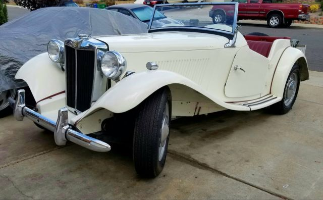 1951 MG T-Series a